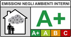 Etichetta emissioni negli ambienti interni bisaten
